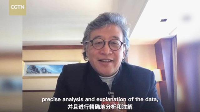 CGTN委员连线|何伟:要建立一个更高效的大数据信息系统